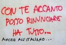 Scrivillo sui muri  / Quando il writing incontra l agnulanza... Non è sempre una bella cosa