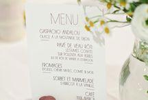 Carte menus