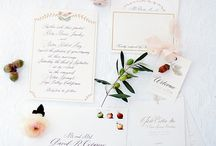 wedding stationery / by Nadia Hung