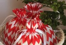 Christmas of Red. / Home accents in red for the holidays!