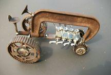 Metal art toys