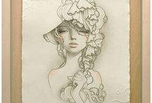 Audrey Kawasaki / Audrey Kawasaki - American artist. Official site http://www.audrey-kawasaki.com/
