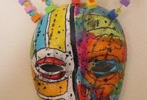 maski ceramika