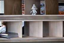 Полки и стеллажи • Shelves and Bookcases