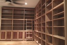 Built-in & Freestanding Shelving units / Library & Bookcases
