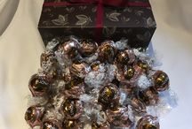 Lindt Lindor / A Pinterest explosion of the colourful, delicious flavours of Lindt Lindor chocolate available at The Chocolate Emporium @ https://thechocolateco.com/