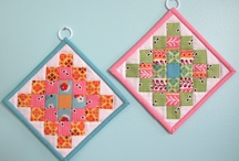 Small Quilting Projects / Table runners, potholders, mug rugs, candle mats / by Cindy B.