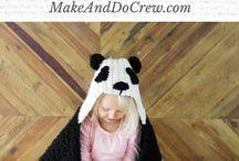 hækle og strik til større børn