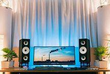 Komputery i biurka