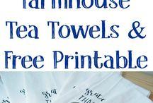 Tea towels 2