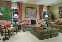 Living room decorating ideas/river house / by Candice Reed