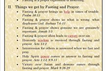 Fasting & Praying / Teachings
