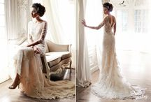 Non Strapless Wedding Gowns / by Amy Erickson