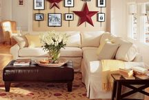 The Patriotic Home / A collection of our favorite home decorating and entertaining ideas for the 4th of July, Memorial Day, Flag Day and Labor Day. Here's how to add a pinch or punch of patriotic pride to your home or party.