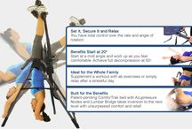 Teeter Inversion Tables / Product information on Teeter Hang Ups Inversion Tables. / by TeeterHangUps