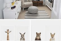 animal theme nursery