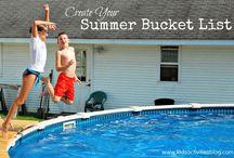 Summer Bucket List / by Debbie Graetz