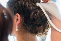 bridal styling / updo, wedding, styling, hair, jewelry, bridal