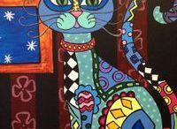 Kediler / Çini kediler