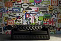 Rebel Walls / Bij Den Otter Kantoorbeleving! kun je ook terecht voor het behang van Rebel Walls. Kies uit de honderden ontwerpen of upload zelf een ontwerp of foto en maak de wanden van je kantoor nog vetter!
