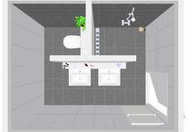 plattegrond badkamer