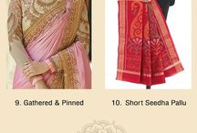 Saree Draping Style Guide