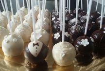 Cake pops / Pečené lízatká - Cake pops