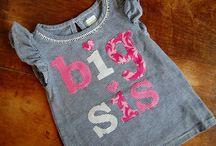 big sister & little sister shirts ...