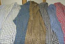 Skjorter patchwork