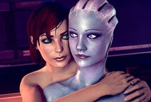 PV BLOG Intergalactic Pride / #IntergalacticPride – A peak into the daily life of Liara & Jane <3 A sweet and crispy visual inspiration for the importance of freedom of choice in order to find real love. Images by N7-CMDR