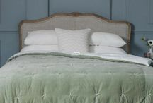 Bedding, bed linen, throws and quilts