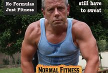 """What Is """"Normal Fitness"""" For Most People? / Exercise, eating and other fitness activity for people with real lives to manage. Normal Fitness is where everything you do to exercise is part of something else. No schedules, no formulas.  Just Fitness.   Check out http://normalfitness.net / by M.R. Enterprises"""