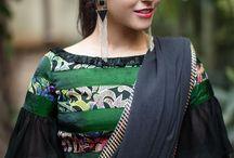Modern blouse sleeves
