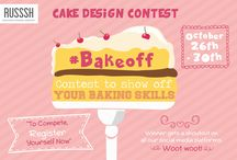 #BAKEOFF / Hello there, Bakers of Mumbai! Presenting to you: #BAKEOFF, our FIRST EVER Pinterest Cake Design Contest! Submit your fancy cake designs and compete with bakers across Mumbai. Let the battle begin!
