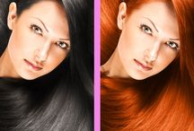 """Hair Dyes - Magic Salon / Hair Dyes - Magic Salon, Hair Color Booth and nice pic editor for your stylish looks """"HairDye"""" app lets you find out yours looks with pink hair, green hair, brown hair and many more hair colors or your look with few streaks. Like and follow at Facebook: http://on.fb.me/1Pyezqv"""