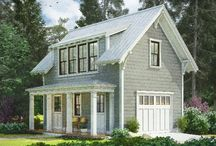 Garage & Carriage House Inspiration / Organize and plan out your perfect garage. Get inspired here to take back your garage and turn it into usable space for you and your family.