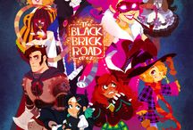 black brick road of oz