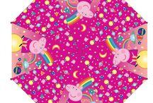 Peppa Pig parapluies / Peppa Pig parapluies
