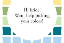 Bridesmaid Gown Inspiration / Ideas to help with the difficult decision of picking Bridesmaid Gowns.