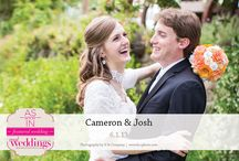 Featured Real Wedding: Cameron & Josh {from the Summer/Fall 2014 Issue of Real Weddings Magazine} / Cameron & Josh-Featured Real Wedding from the Summer/Fall 2014 issue of Real Weddings Magazine, www.realweddingsmag.com. Photos by and copyright H & Company, www.hcophoto.com. See more here: http://www.realweddingsmag.com/featured-real-wedding-cameron-josh-from-the-summerfall-2014-issue-of-real-weddings-magazine/