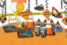 Construction Theme Party Ideas / Ideas and decorations and supplies for a construction party