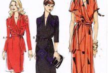 Vintage Fashion Sketches