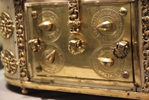 Reliquaries / Dead saints' bones and things in pretty boxes
