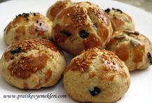 Zeytinli kurabiye