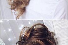 penteados e make