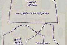 Patrones de ropa de muñeca
