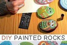 DIY met stenen