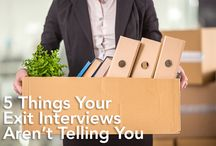 Exit Interviews & Surveys