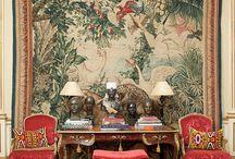 Centerpiece tapestries