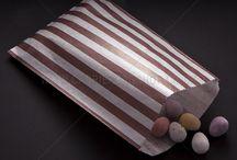 Braun Taschen und Verpackung